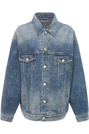 Balenciaga Organic Cotton Denim Over Jacket