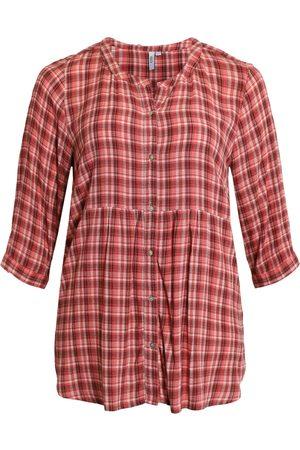 Ciso Kvinder Langærmede - Skjortebluse - Cranberry - 42
