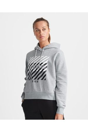 Superdry Kvinder T-shirts - Sport Kort Core Sport Training hættetrøje