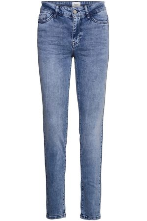 Saint Tropez Kvinder Slim - Mollysz Mw Slim Jeans Slim Jeans