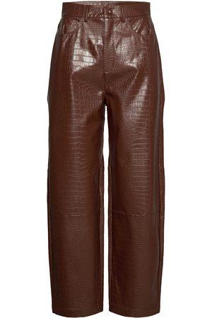 Samsøe Samsøe Myla Trousers 13102 Leather Leggings/Bukser