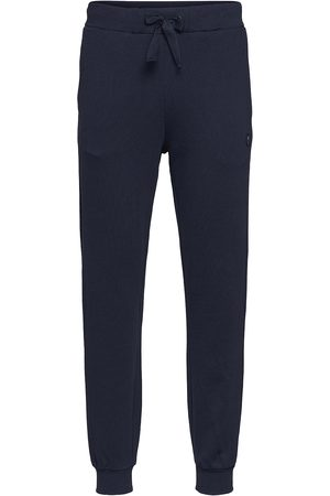 Knowledge Cotton Apparal Mænd Joggingbukser - Teak Sweat Pants - Gots/Vegan Sweatpants Hyggebukser Blå