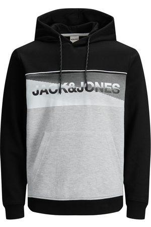 Jack & Jones Mænd Sweatshirts - Kænguru Lomme Med Logo Hoodie Mænd