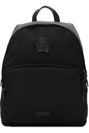 VERSACE Mænd Rygsække - Nylon Backpack W/medusa Hardware