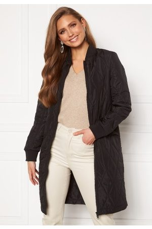 Happy Holly Freya quilted coat Black 44/46