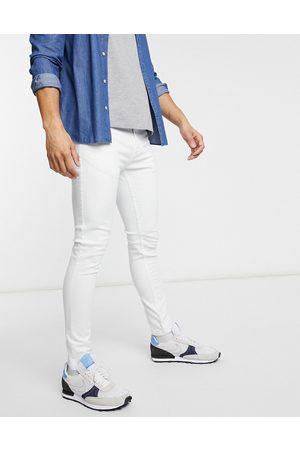 Brave Soul Hvide skinny-jeans