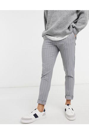 ASOS Elegante skinny-bukser i nålestriber