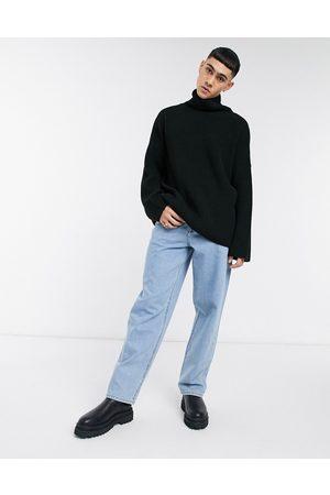 ASOS Baggy jeans i lys stenvask