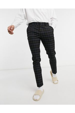 ASOS Super skinny elegante bukser i sorte tern