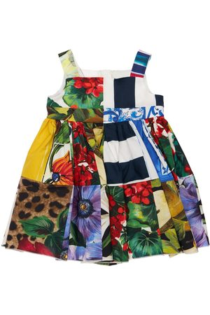 Dolce & Gabbana Printed Cotton Dress & Diaper Cover