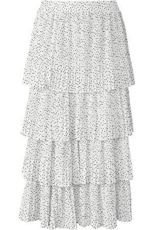 Riani Kvinder Plisserede nederdele - Plisseret nederdel Fra hvid