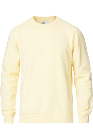Colorful Standard Mænd Sweatshirts - Classic Organic Crew Neck Sweat Soft Yellow