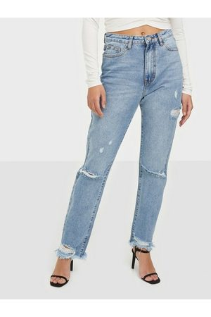 Missguided Highwaisted Straight Tight Jeans Straight fit