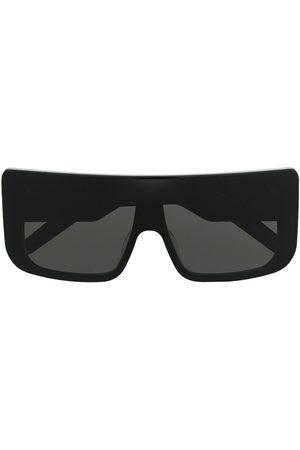 Rick Owens Oversize solbriller med firkantet stel