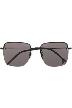 Saint Laurent Solbriller - Firkantede SL312M solbriller med monogram