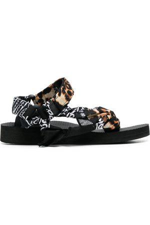 Arizona Love Kvinder Sandaler - Trekky sandaler med leopardtryk