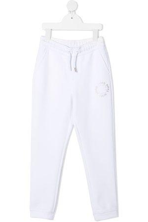 HUGO BOSS Joggingbukser med løbesnor og logo