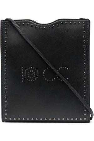 10 CORSO COMO Skuldertasker - Skuldertaske i læder med logo-nitter