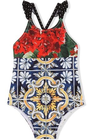 Dolce & Gabbana Badedragt med blandet tryk