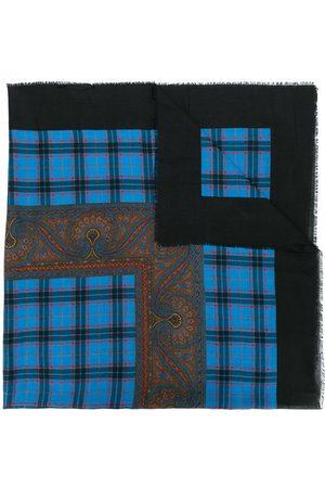 Yves Saint Laurent Kontrastmønstret tørklæde