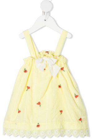 Chloé Baby Overalls - Blomsterbroderet overalls med takker