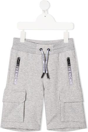 Givenchy Shorts med lynlås og logo