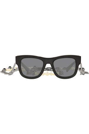 Dolce & Gabbana Solbriller med D-stel og kædeudsmykning