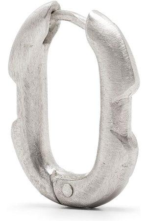 PARTS OF FOUR Øreringe - Enkelt Deco ørering i sterlingsølv