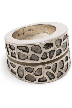 PARTS OF FOUR Ringe - Diamantring i sterlingsølv