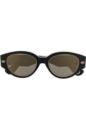 A Bathing Ape Runde solbriller med kamuflagetryk