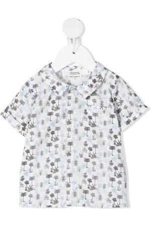 BONPOINT Skjorte med korte ærmer og grafisk tryk