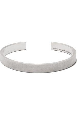 Le Gramme Armbånd - 21g armbånd i børstet effekt med logo
