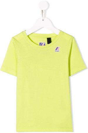 K-Way Drenge Kortærmede - T-shirt med logo på brystet