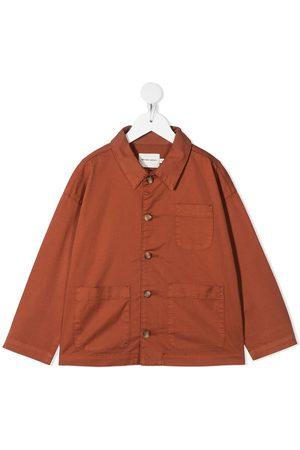 The New Society Skjortejakke med påsyede lommer