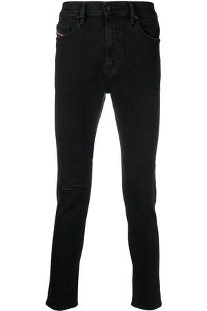 Diesel Mænd Skinny - Skinny jeans med mørk vask