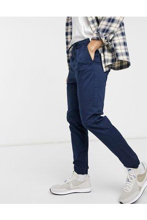 Only & Sons Marineblå bukser med tætsiddende kanter