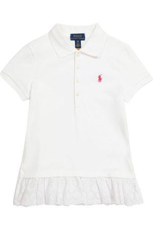 Polo Ralph Lauren Kids Piger Poloer - Logo stretch-cotton piqué polo shirt