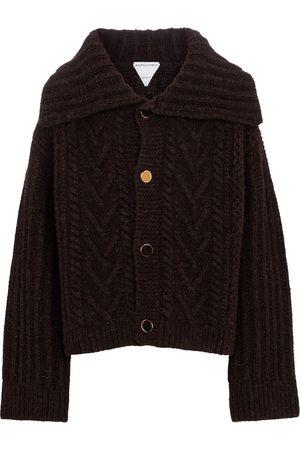Bottega Veneta Kvinder Strik - Cable-knit wool cardigan
