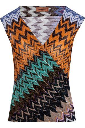 Missoni Kvinder Tanktoppe - Zig-zag knit tank top