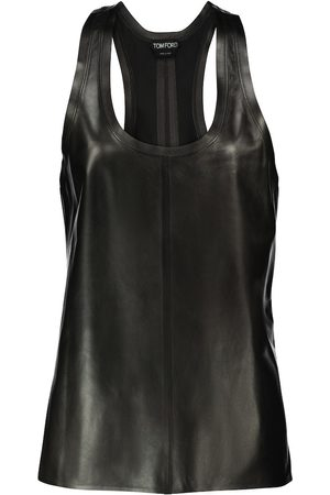Tom Ford Kvinder Tanktoppe - Leather tank top