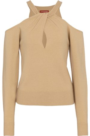 Altuzarra Kvinder Strik - Nasrin wool and cashmere sweater