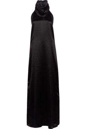 Bottega Veneta Kvinder Maxikjoler - Satin maxi dress