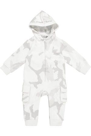 Dolce & Gabbana Kids Onesies - Baby camouflage cotton onesie