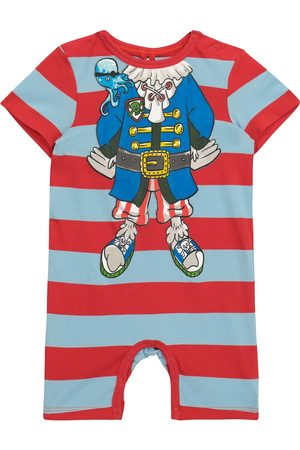 Stella McCartney Kids Baby striped cotton jersey bodysuit