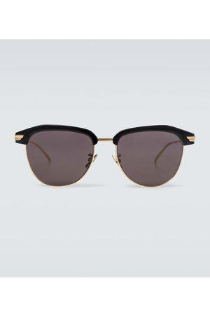 Bottega Veneta Mænd Solbriller - Square-framed metal sunglasses