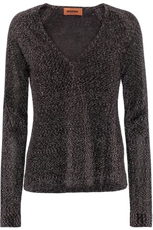 Missoni Metallic V-neck sweater