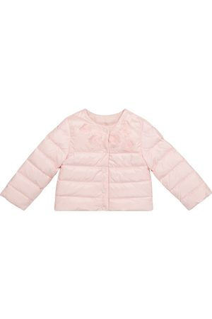 Moncler Enfant Baby Denisa floral down jacket