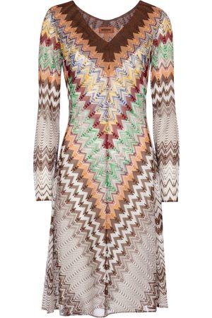 Missoni Kvinder Festkjoler - Zig-zag knit minidress