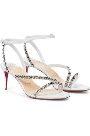 Christian Louboutin Kvinder Sandaler - Mafaldina Spikes 70 leather sandals