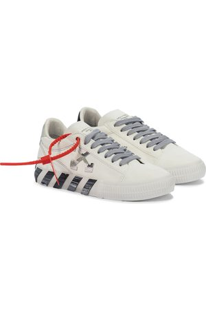 Off-White Kvinder Sneakers - Low Vulcanized canvas sneakers